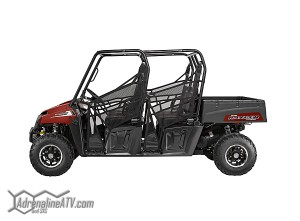 The RANGER Crew 570 as well as the RANGER 570 have all of the hardest working features as the previous 500cc versions.