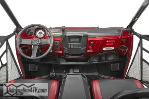 Standard tilt steering gives drivers increased comfort and there is tons of storage both in-dash and under both of the front and rear seats