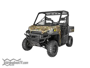 The industry changing RANGER XP 900 returns for 2014 in Sage Green, Solar Red and Polaris Pursuit Camo.