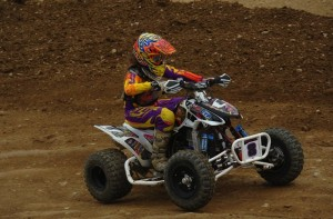 Youth class racer Maddison Guyer rode her JB Racing / ITP-backed ATV to victory in the Girls (12-15) class and third in the Schoolboy (13-15) class at Steel City