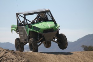Nolan Remlinger took his first win of the season in his Mongrel-equipped Teryx
