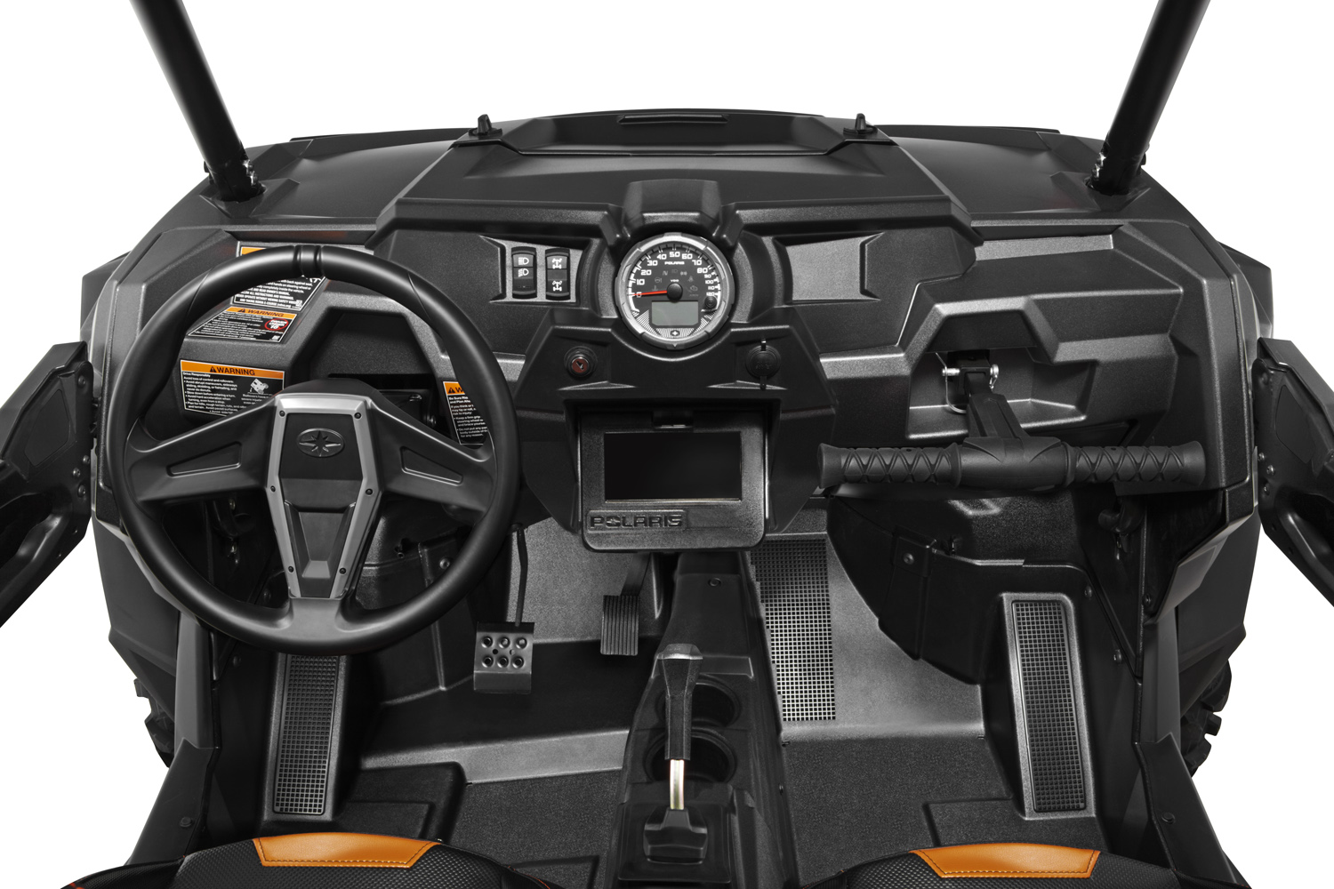 Fpo 2014 Rzr 1000 Xp Titaniummetallicorange Cockpit Detail Polaris 170 Wiring Diagram