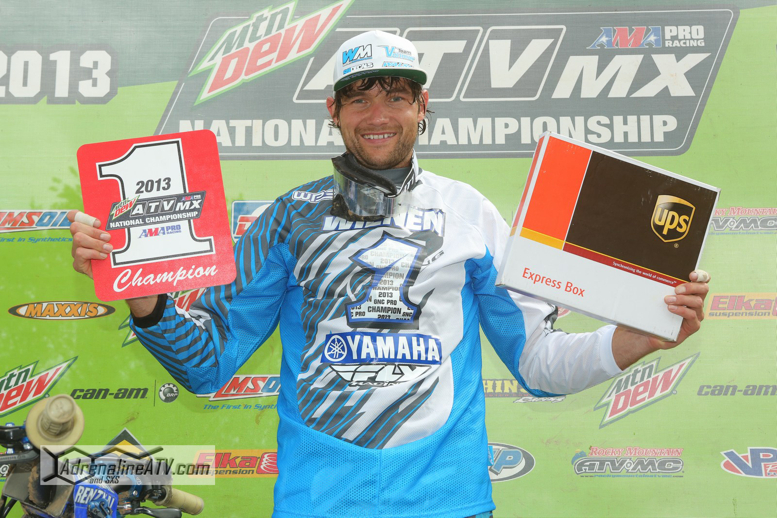 In his second year aboard a Yamaha YFZ450R, Chad Wienen was able to clinch the 2013 ATV MX National Championship at Red Bud MX