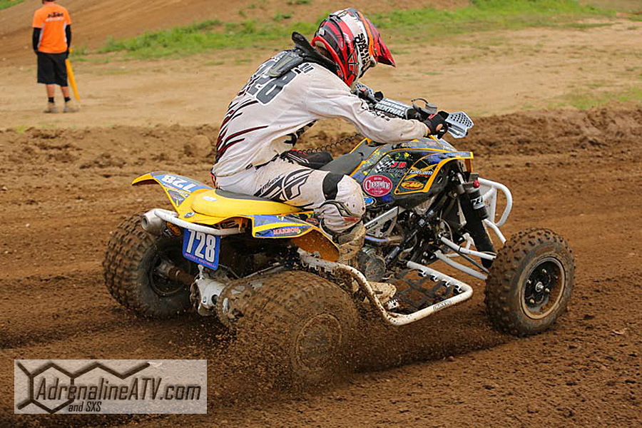 Riding on ITP tires, Pro ATV racer Jeffrey Rastrelli finished eighth in the Pro class and second overall in the Pro-Am class at round nine in Michigan.