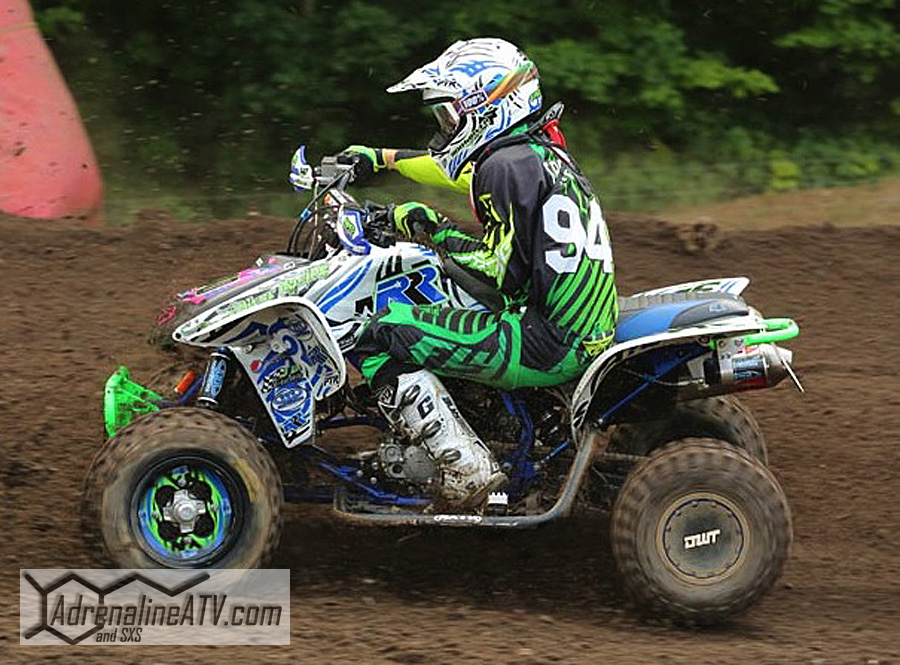 Dylan Tremellen used ITP Quadcross MX2 fronts and Quadcross rears to earn second place in two classes at Red Bud.