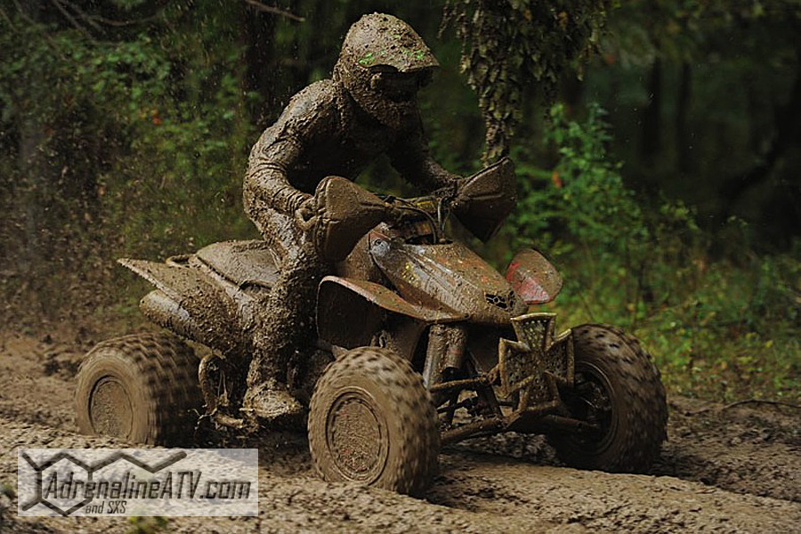 ITP Pro Adam McGill got off to slow start, but rallied to earn fourth overall in the XC1 Pro class at a very muddy Gusher GNCC in Pennsylvania.