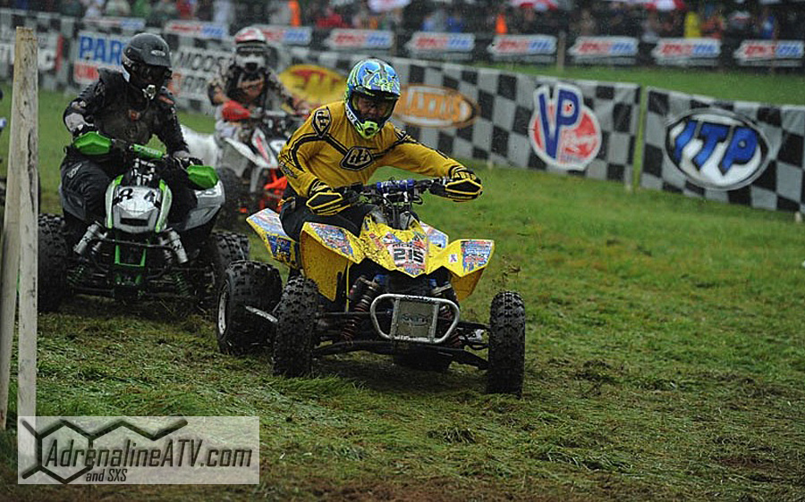 Kenny Rich Sr. used ITP tires to win the Masters 50+ class at round 11 of the AMSOIL GNCC series in Foxburg, Pa.