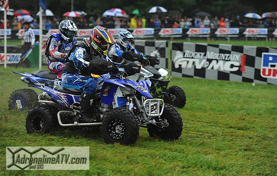 ITP racer Dave Simmons secured the 2013 GNCC Super Senior (45+) title after winning his class at the inaugural Car-Mate Gusher GNCC in Pennsylvania.