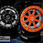 Hi-Per was on hand to show off their latest carbon fiber beadlock wheels. They even have a single beadlock wheel  for UTVs that weights in just over 12 lbs.