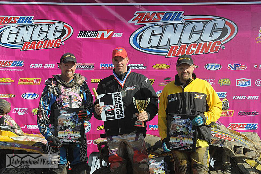4x4 podium: (left) Kevin Trantham, Michael Swift, (right) Robert Smith Photo: Ken Hill