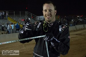 Piplic was all smiles with his name in the record books for longest UTV jump.