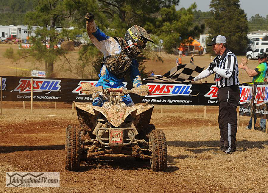 Fowler secured a big win at Round 2, tying up the championship points with BorichPhoto: Hill