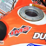 Refueling in less than 10 seconds? With an IMS dry break fuel tank system, we were able to get in and out of the pits in a flash.